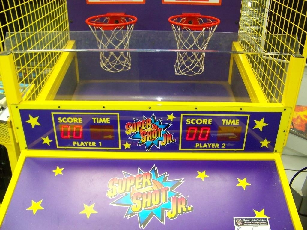 Lot 145 - SUPER SHOT JR. BASKETBALL REDEMPTION KIDS GAME