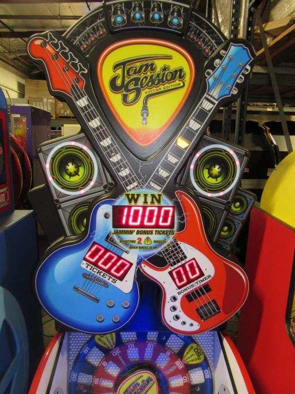 Lot 154 - JAM SESSION TICKET REDEMPTION GAME BAYTEK