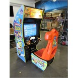 NICKTOONS RACING SITDOWN ARCADE GAME CLEAN!!