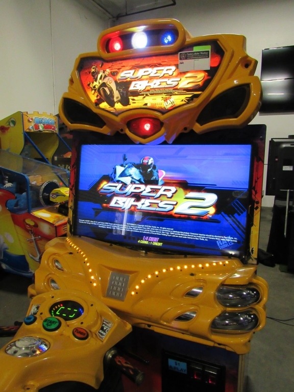 Lot 112 - SUPER BIKES 2 FAST & FURIOUS RACING ARCADE GAME
