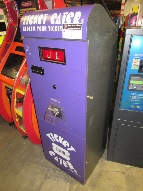DELTRONICS TT-2000 UPRIGHT TICKET EATER MACHINE - Image 2 of 4