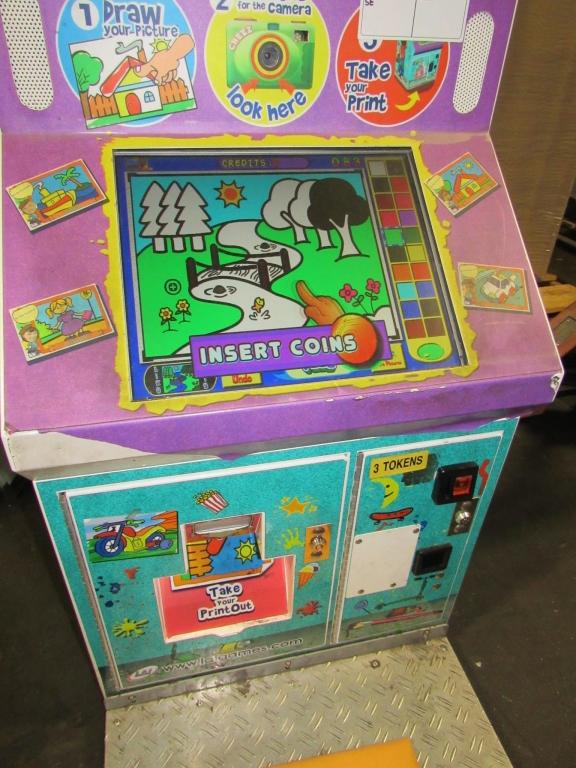 Lot 153 - LITTLE MASTERPIECE PICTURE KIOSK LAI GAMES