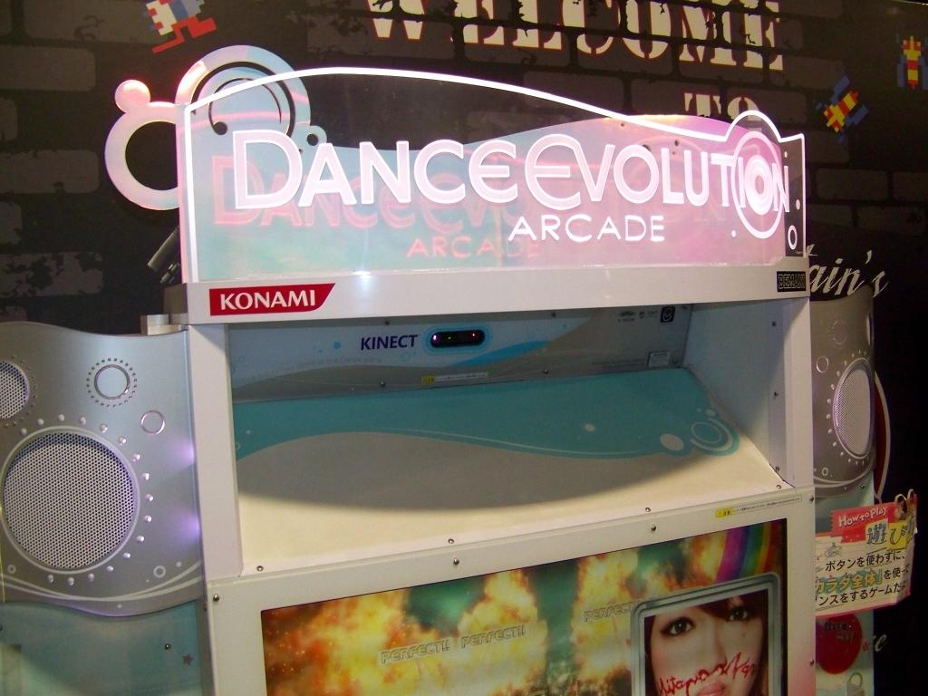 Lot 121 - DANCE EVOLUTION KONAMI DANCE ARCADE GAME 2016