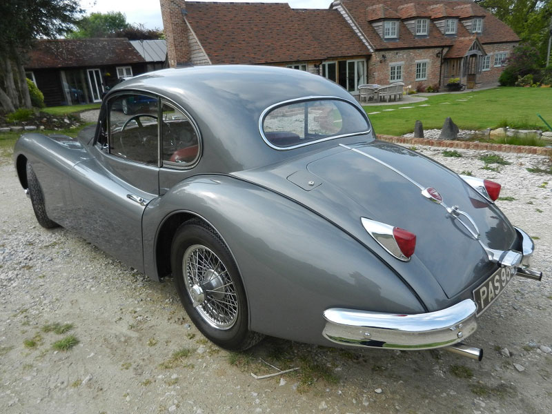 Lot 111 - - Imported to USA by Hoffmans in September 1955- Gunmetal with Oxblood interior, JDHT Certificate