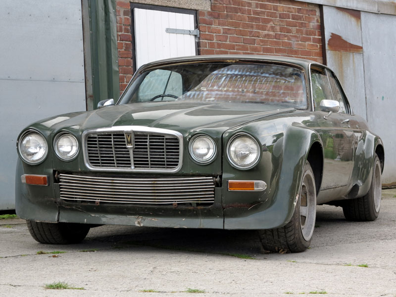 Lot 13 - - John Steed's famous mount in 'The New Avengers' TV series- The eighth XJ-C 12 made and