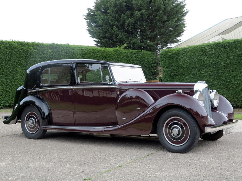 Lot 41 - - The last LWB car and current ownership since 1973