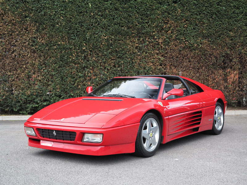 Lot 29 - First seen at the 1989 Frankfurt Motorshow, the Pininfarfina-penned mid-engined 348 replaced the