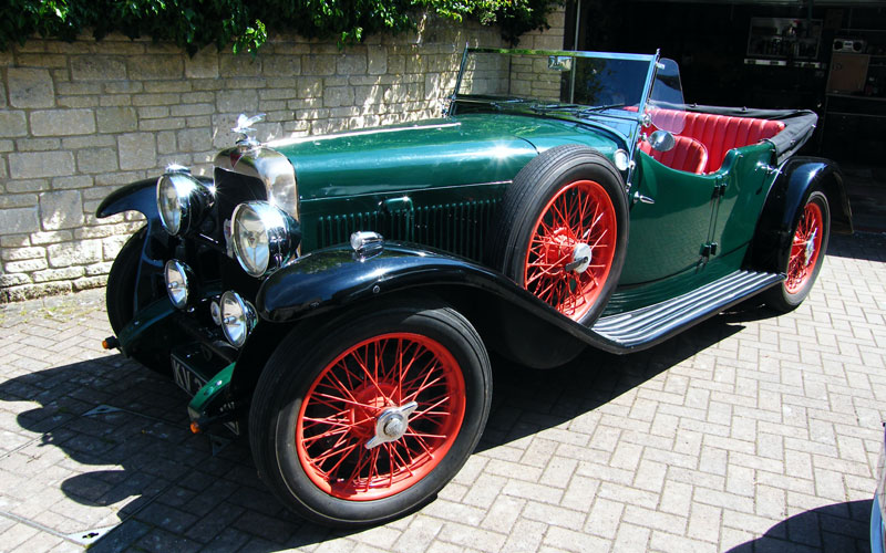 Lot 129 - Introduced in September 1932, the Alvis Firefly was built to the same high standards as its more