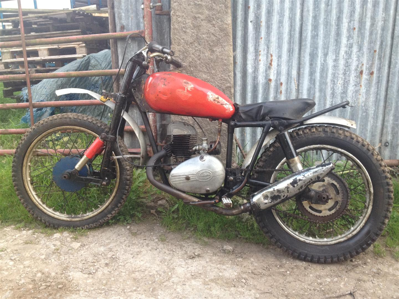 c1960 197cc DOT Trials Reg  No  N/A Frame No  TBA Engine No