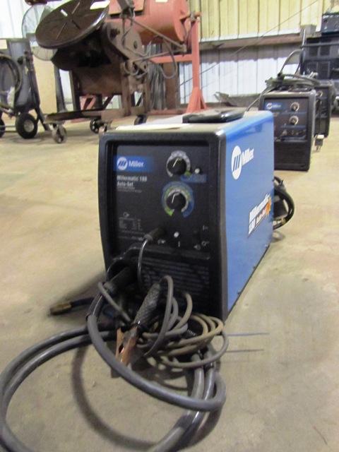 Incredible Miller Millermatic 180 Auto Set 230 Volt Wire Welder Sn Mc4211706N Wiring Cloud Hisonuggs Outletorg
