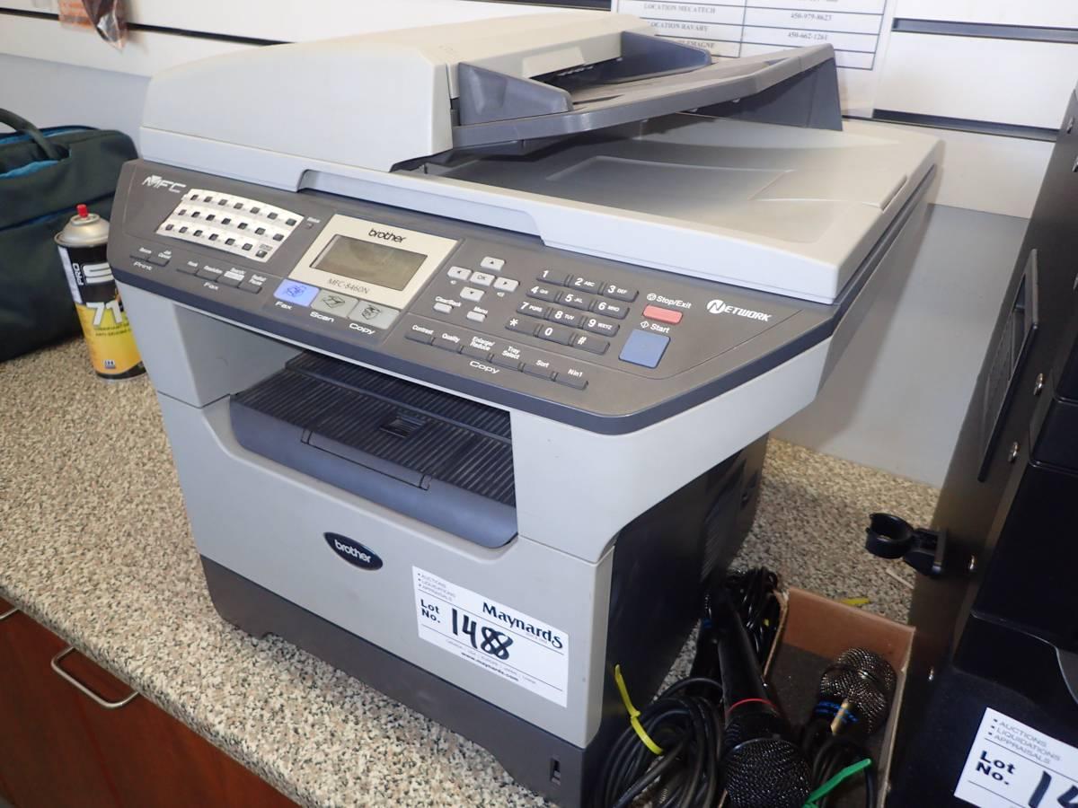 brother mfc 8460n multi function fax scan copier. Black Bedroom Furniture Sets. Home Design Ideas