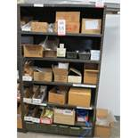 LOT - CONTENTS ONLY OF SHELF UNIT, TO INCLUDE: FASTENERS, TOOLING, ETC.
