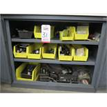 CABINET W/ CONTENTS: TOOLING FOR THREADERS