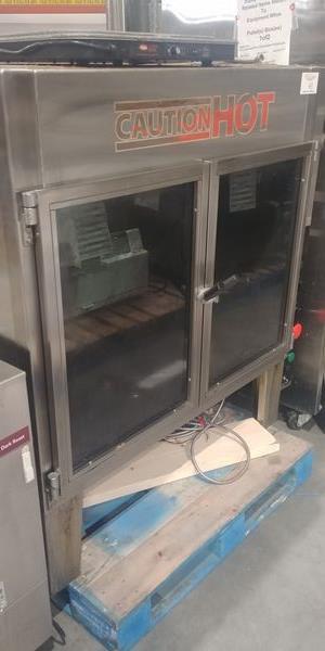 Lot 43 - Hardt Inferno 35 Chicken Rotisserie - Gas - Note: No Skewers