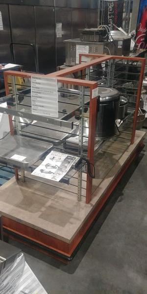 Lot 16 - Approx. 7ft Double Sided Mirror Back Rolling Merchandiser