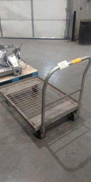 Lot 57 - Steel Stock Cart
