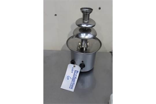 Tesco Cf06 Chocolate Fountain Capacity 900g 230mm X 414mm X