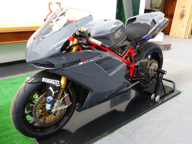 "Lot 2177 - DUCATI 1098 RR- IN FULL RS SPECIFICATION- AN EXCEPTIONAL EXAMPLE WITH A ""COST NO OBJECT"" FOLIO OF"