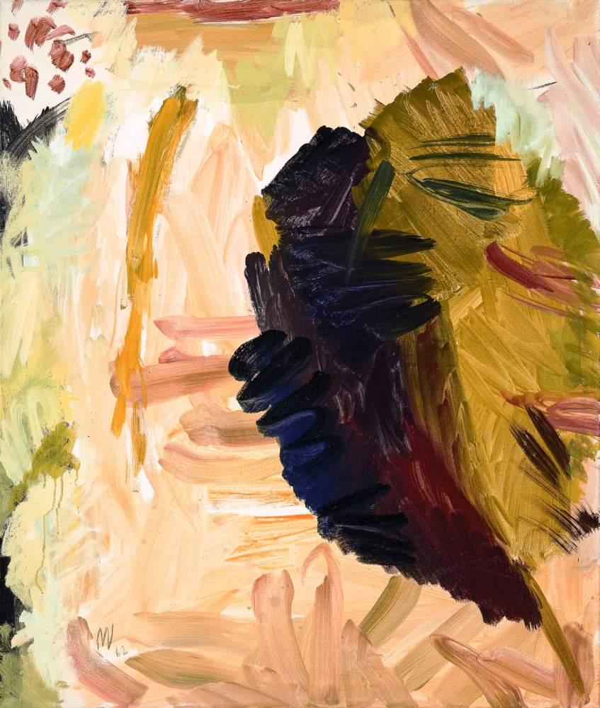 Max Weiler * (Absam 1910 - 2001 Wien)  Komposition aus Naturstücken 4 Eitempera auf Leinwand 130 x