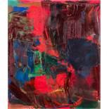 Gottfried Mairwöger (Tragwein 1951 - 2003 Wien)  (ohne Titel)  Öl auf Leinwand 98 x 85 cm 1985