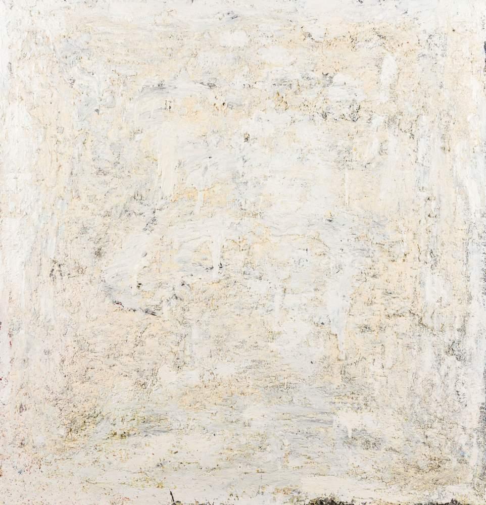Nikolaus Moser * (Spittal am Millstättersee 1956 geb.)  (ohne Titel)  Öl auf Leinwand 112 x 107 cm