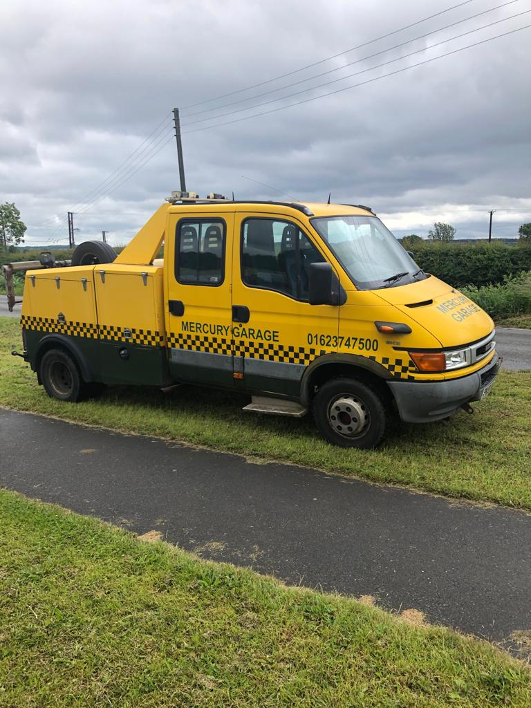 Lot 21 - 2002/51 REG IVECO-FORD DAILY (S2000) 65C15DC/CAB 2.8 DIESEL BREAKDOWN RECOVERY TRUCK *PLUS VAT*