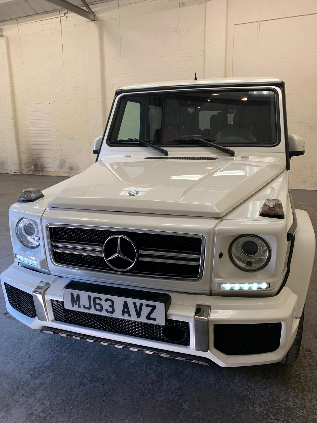 Lot 91 - 2014/63 REG MERCEDES-BENZ G63 AMG 5.5L AUTOMATIC, SHOWING 0 FORMER KEEPERS *NO VAT*