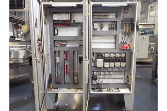 PLC/AB ac drives conveyor control panel, with AB Powerflex 40, (5