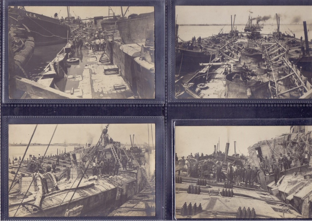 Lot 148 - POST CARDS : NAVAL related selection of