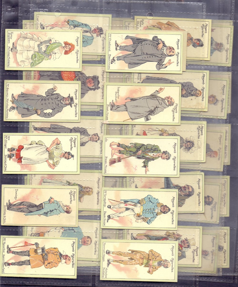 """Lot 160 - CIGARETTE CARDS : 1923 Players """"Characte"""