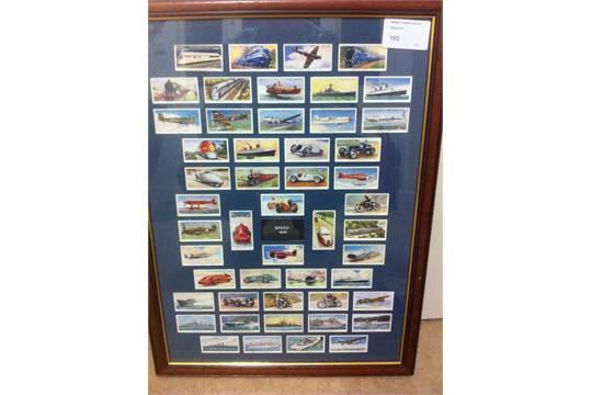 Lot 165 - CIGARETTE CARDS : 1938 Speed, Wills set