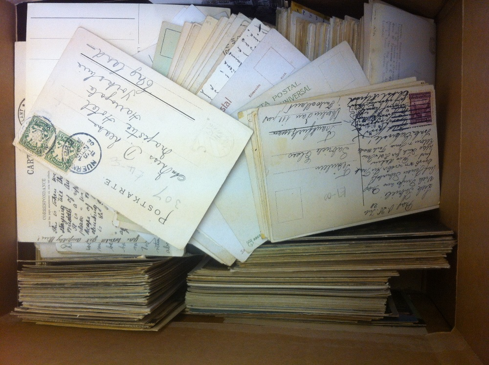 Lot 154 - POST CARDS : European topographical old