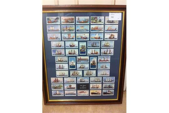 Lot 162 - CIGARETTE CARDS : 1937 Story of Navigati