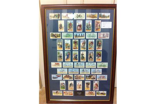Lot 167 - CIGARETTE CARDS : 1939 Cycling Players c