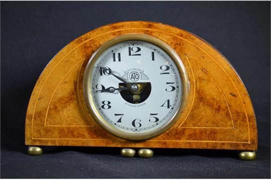Pendulette 224 Poser 171ato Electrique187 Art Deco Bo