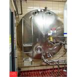 Cherry Burrell 3,000 Gallon Horizontal Jacketed S/S Tank Model HCW : SN 3000-57-CR7135, with 2""