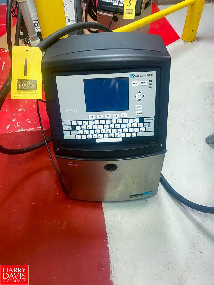 Video Jet Ink Jet Printer Model: 1520, SN: 1201418C22ZA - Rigging Fee: $ 75