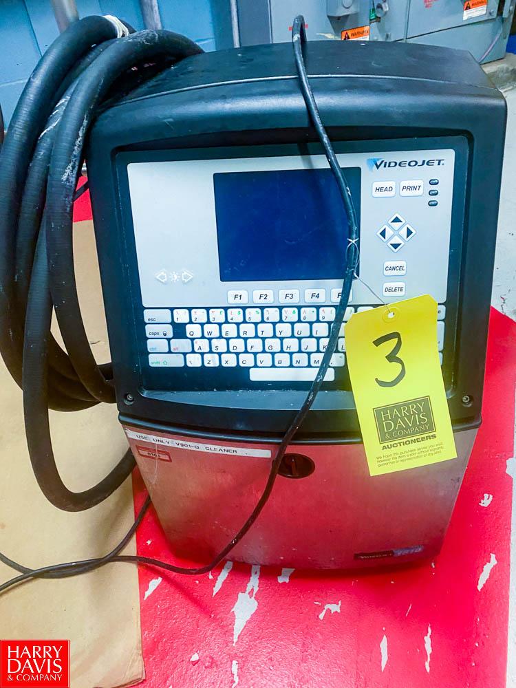 Video Jet Ink Jet Printer Model 1510, SN: 1004220C11ZH - Rigging Fee: $ 75