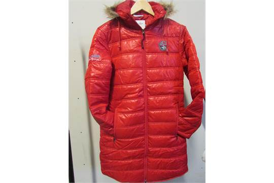 16df14d72 Nebulus Wintermantel Chamonix Red Ladies Coat Size: 12
