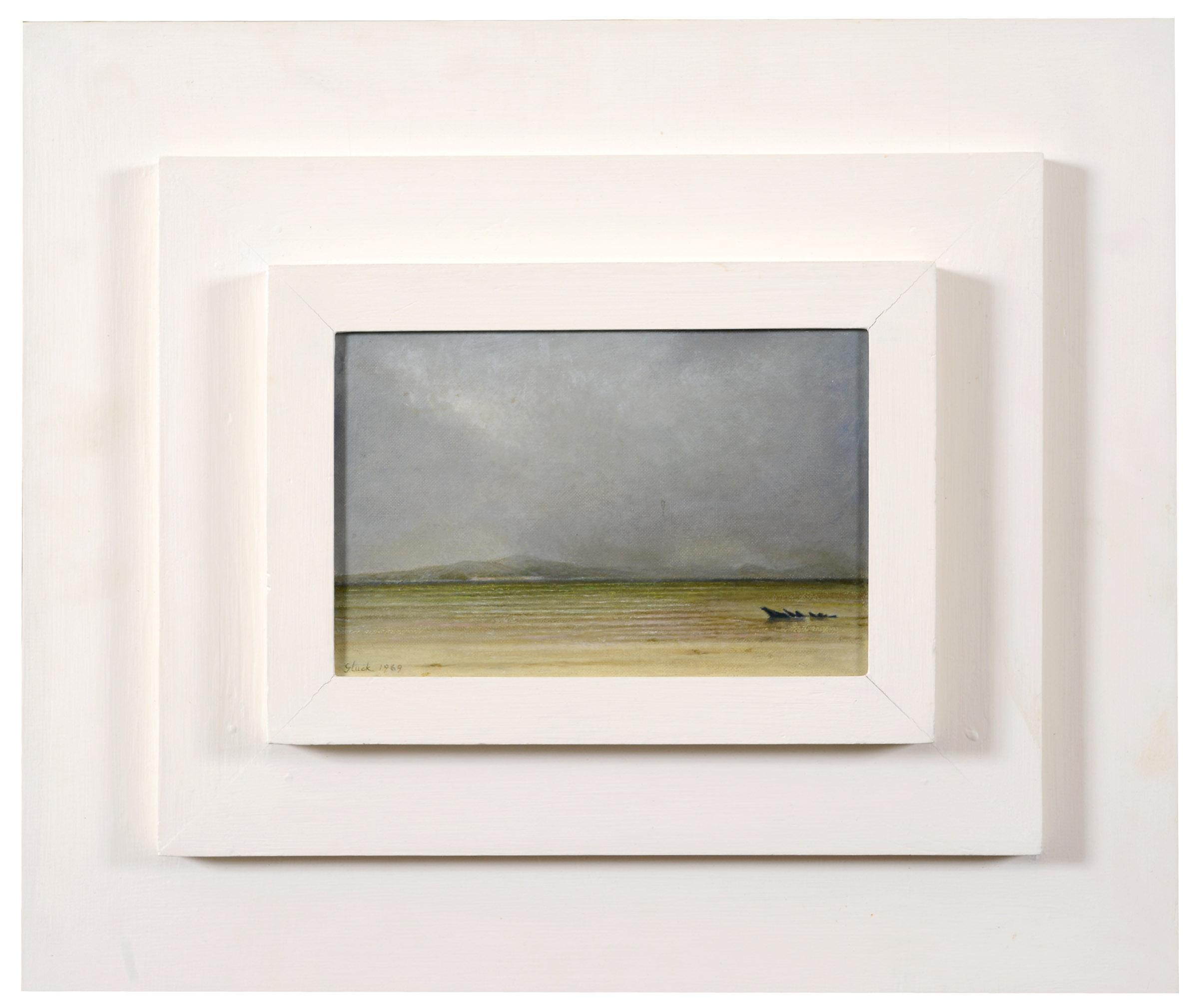 Lot 1965 - •`GLUCK` (HANNAH GLUCKSTEIN) (1895-1978) SEASCAPE Signed and dated Gluck 1969, oil on canvas