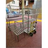 Qty Stainless Steel & Aluminium Mobile Stands.