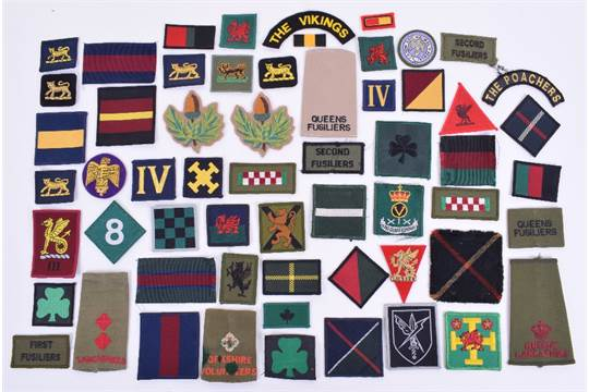 Selection of Modern British Army Infantry Regiments TRF