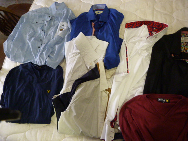 Lot 114 - Small Quantity of Shirts & Jumpers