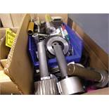 BOX OF ASSORTED INSPECTION EQUIPMENT