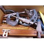 (3) BOXES OF ASSORTED MICROMETERS