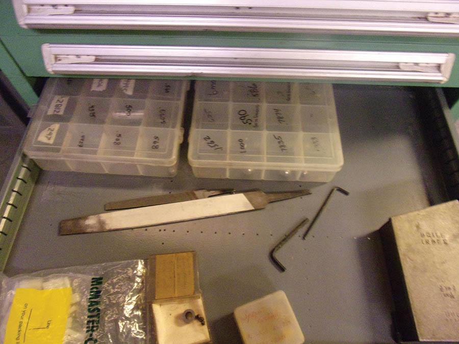 6-DRAWER VIDMAR CABINET W/ PIN GAUGES - Image 3 of 3
