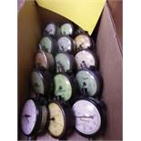 (10) BOXES OF ASSORTED DIAL GAUGES