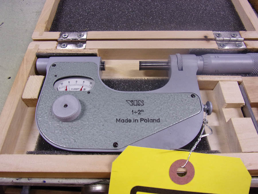 (5) SETS OF ASSORTED MICROMETERS (SOME PARTIAL)