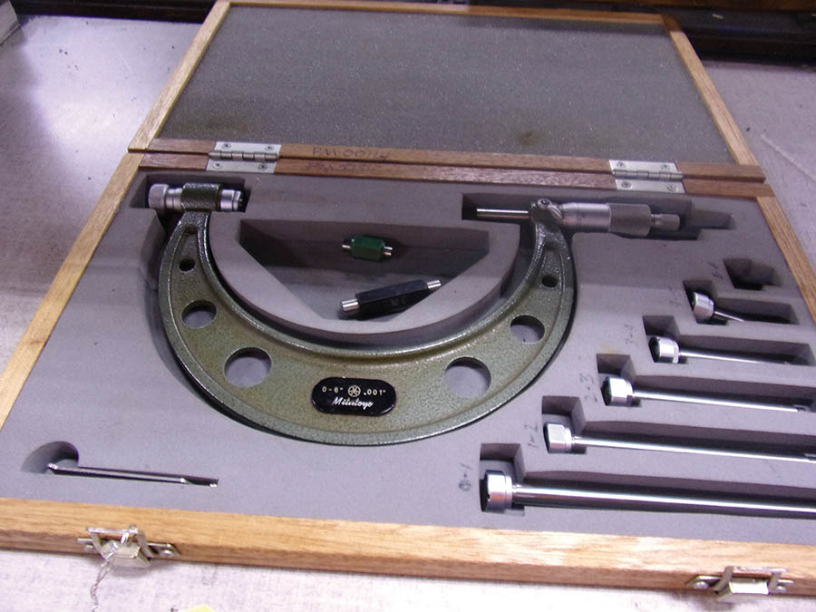 (3) MITUTOYO MICROMETER SETS 0-6'' AND 6-12'' - Image 3 of 3