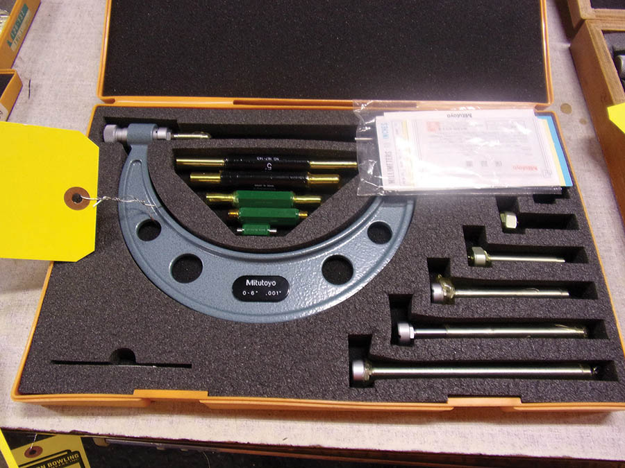 (3) MITUTOYO MICROMETER SETS 0-6'' AND 6-12'' - Image 2 of 3